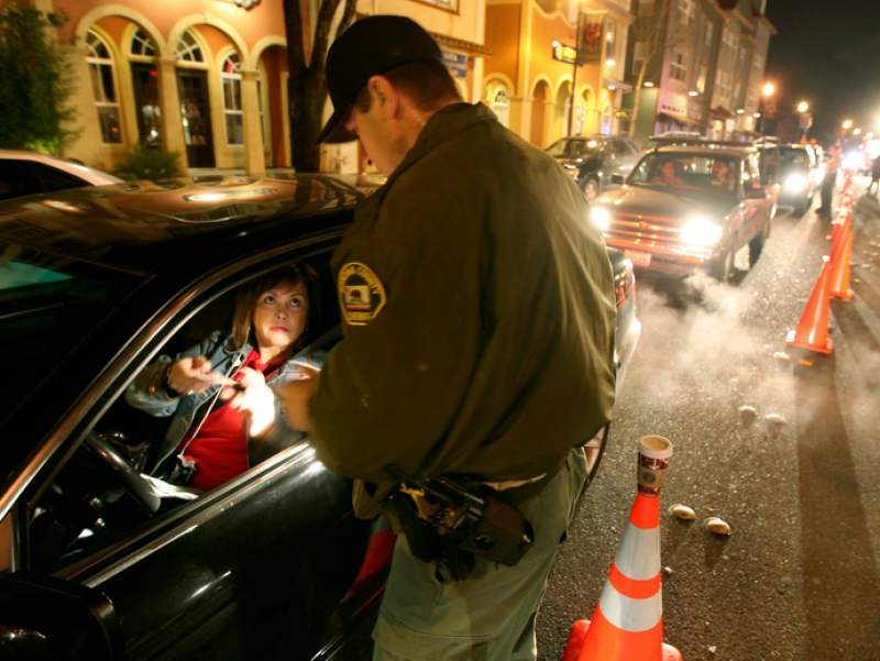 DUI CHECKPOINTS IN SANTA ROSA